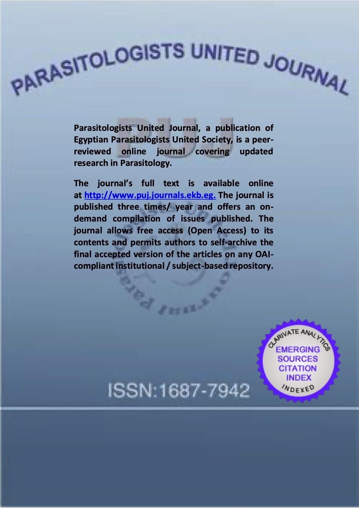 Parasitologists United Journal